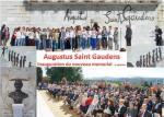 Le nouveau mémorial à Saint Gaudens